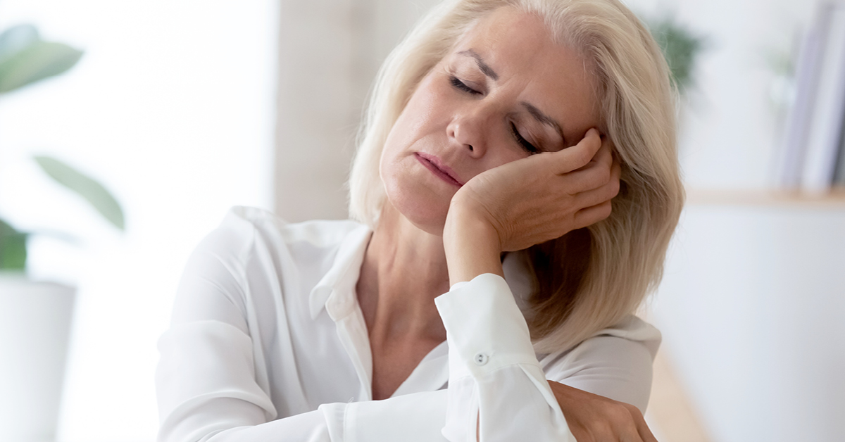 menopauze slecht slapen