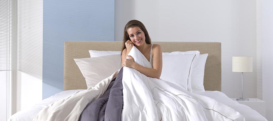 Comment choisir une couette d t agr able sleeplife blog - Comment choisir une couette chaude ...