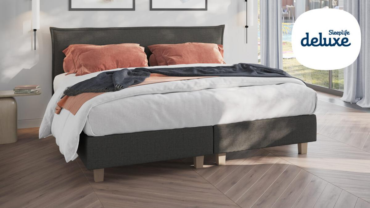 boxspring sleeplife deluxe belle rose